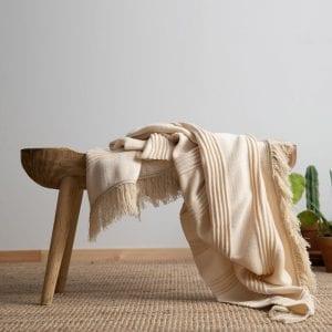 Marilyn blanket – Ivory