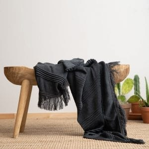 Marilyn blanket – dark gray