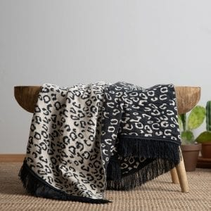 Malala blanket-dark gray