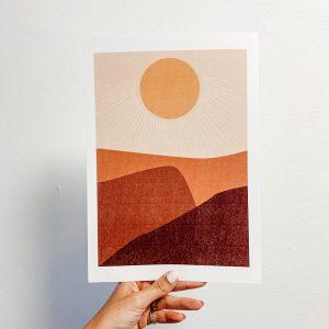 SUNRISE PRINT