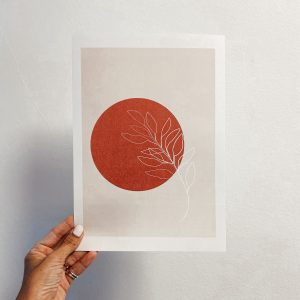 FLORA AND THE SUN PRINT